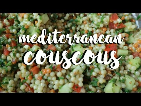 Mediterranean Couscous Salad!