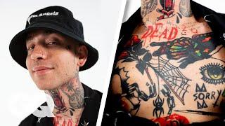 blackbear Breaks Down His Tattoos | GQ