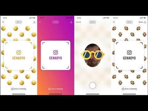 How to Use Instagram Nametags Add Your Friends More Quickly by Scanning with Emojis (v67.0.0.0.57)