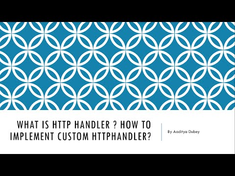 What is HttpHandler and How to Implement Custom HttpHandler in ASP.NET MVC