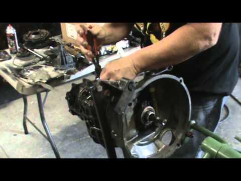 BUILDING A VW TRANSMISSION