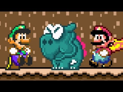 Super Mario World Co-Op Walkthrough - Part 6 - Chocolate Island