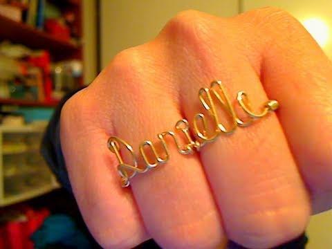 Personalized Wire Jewelry