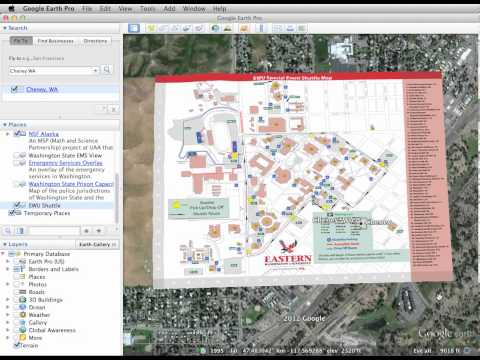 Google Earth Image Overlay - Demonstration -