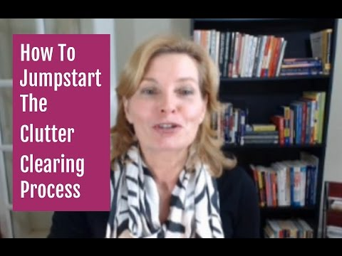 How To Jump Start the Decluttering Process and Clear Clutter Fast | The Clutter Challenge Task 1