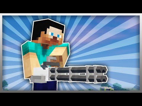 ✔️ LEGENDARY Weapons in Minecraft! (Gun Mod Update)