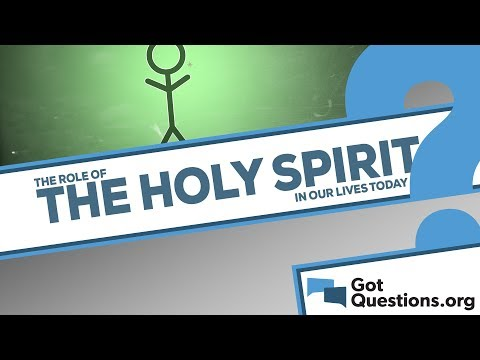 What is the role of the Holy Spirit in our lives today?