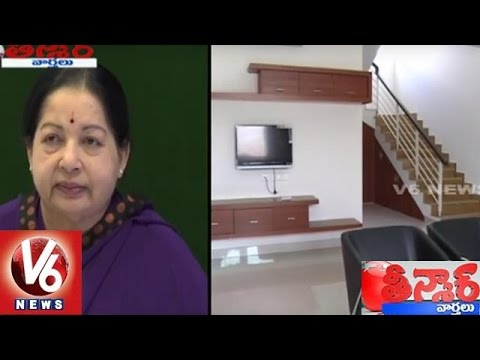 AIADMK Workers Falls At Jayalalitha's Feet After Grand Victory In Elections 2016 | Teenmaar News