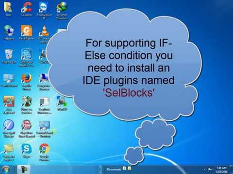 How to use IF ELSE Condition in Selenium IDE? (Bangla Voice)