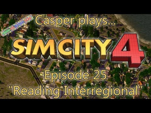 Casper plays SimCity 4 - Episode 25: Reading Interregional Airport
