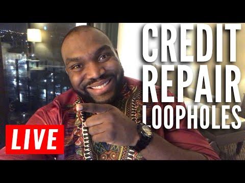 Credit Repair loopholes to remove negative items off credit report | DIY Credit Repair