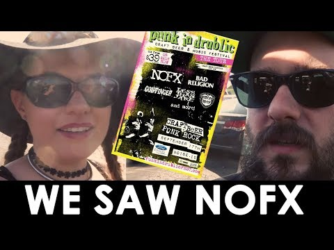 NOFX PUNK IN DRUBLIC FESTIVAL,  MATTRESS DELIVERY, AND SOME TRUCK STUFF