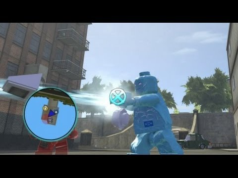 LEGO Marvel Super Heroes (PS4) - Iceman Free Roam Gameplay