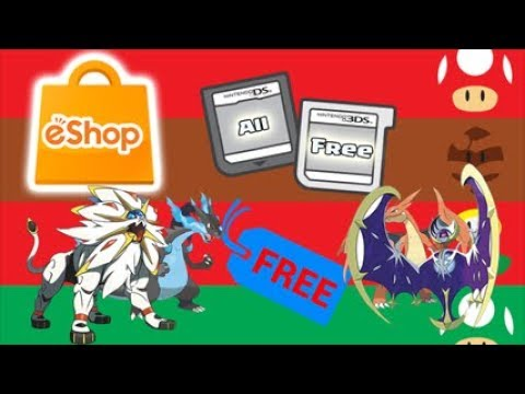 GET EVERYTHING FREE FROM THE ESHOP NINTENDO 3DS [STILL WORKING]