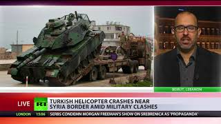 'We are at war': Turkish helicopter crashes amid Afrin operation, 2 soldiers dead