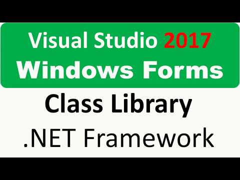 Windows Forms -  Class Library