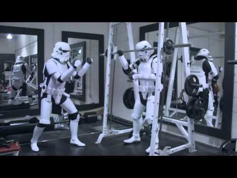 Stormtrooper Gym Bros - Getting Pumped For The New Star Wars