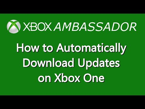 How to set your Xbox One to Automatically update games & Apps | Xbox Ambassador Series