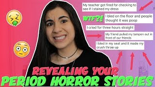Download Reading Your WORST Period Horror Stories | Just Sharon