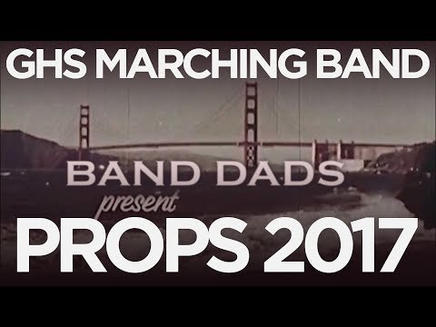 Band Dad Marching Band Props