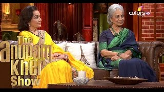 Waheeda Rehman & Asha Parekh- The Anupam Kher Show - Season 2 - 4th October 2015