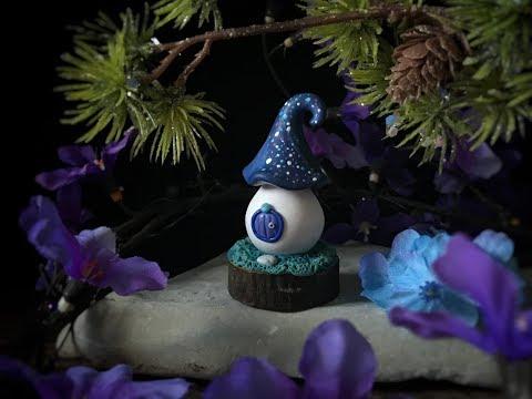 Polymer Clay Fairy House, Fairy House, Night Sky, Clay Tutorial