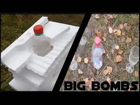 Damage Tests with BIG bottlebombs HD