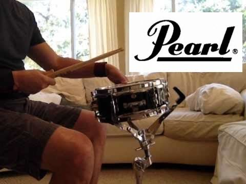 Pearl M-80 Snare Drum | Popcorn Snare Drum | 10x4