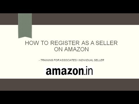 How to Sell / Register as a Seller on Amazon India - English