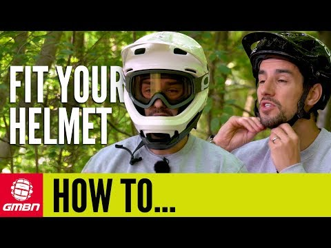 Fitting Your Helmet Correctly | GMBN How To