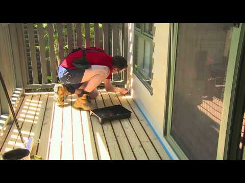 How To Stain A Deck - DIY At Bunnings