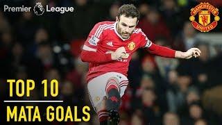 Top 10 Juan Mata Premier League Goals | Manchester United