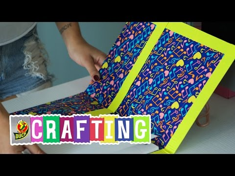 How to Craft a Duct Tape Folder