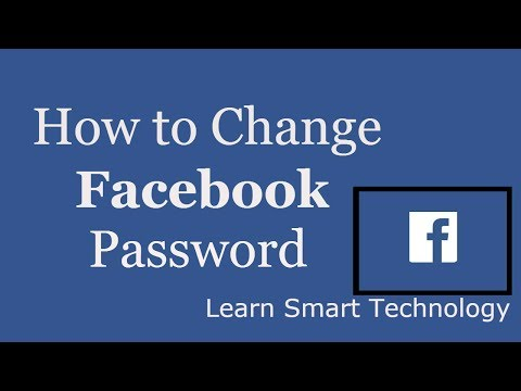 How To Change Facebook Password   Change Facebook Password   Reset Facebook Password