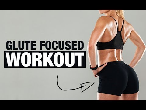 Glute Focused Workout (GROW YOUR GLUTES AT HOME!!)