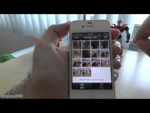 How to send an email with many photos attached selecting a lot at the same time on your iphone