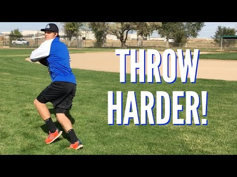 3 Drills to Throw Harder! - Baseball Throwing Drills