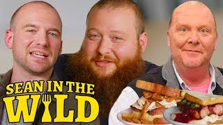 Action Bronson and Sean Evans Have a Sandwich Showdown, Judged by Mario Batali | Sean in the Wild