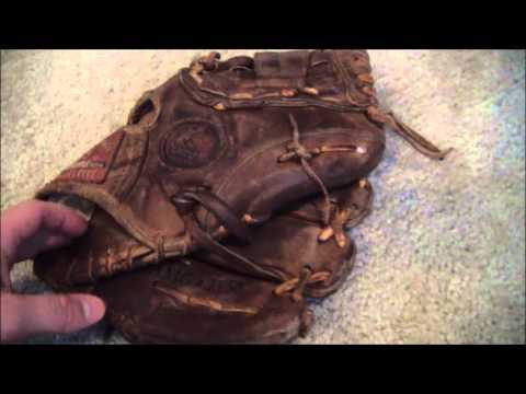 Nokona AMG1150 Glove Relace - Before and After Baseball Glove Repair