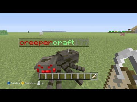 Minecraft xbox 360 Colored NameTags tutorial (NO MODS)