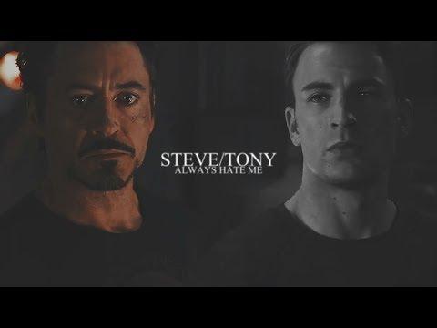 Steve + Tony - He'll always hate me