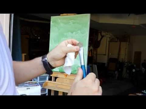 Dried Paint in Brush? How to clean