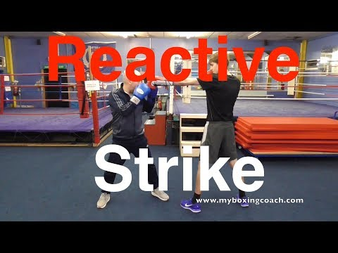 The Reactive Strike Boxing Drill