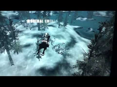 Skyrim FUN: the flying horse.