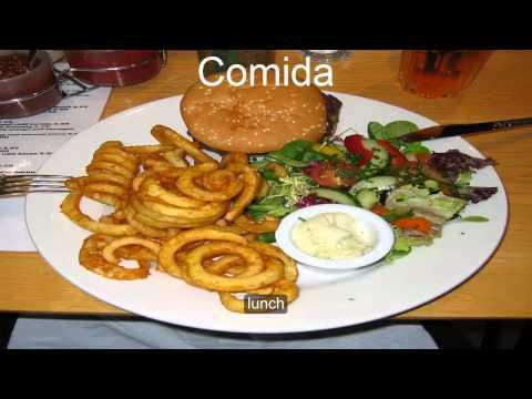 how to speak Spain Spanish :at the restaurant