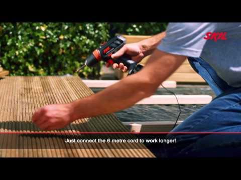 Skil 2461: Work longer with Skil 'Hybrid Power'