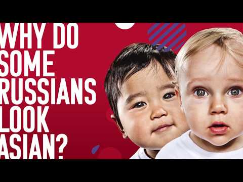 Why do some Russians look Asian?