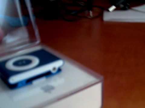 Unboxing Ipod shuffle romania
