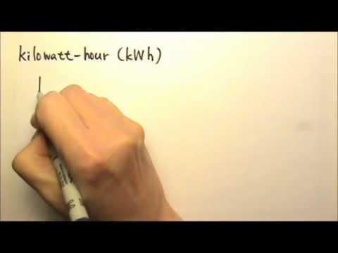 AP Physics 1 & 2: Circuits 9: Kilowatt-hour: kWh