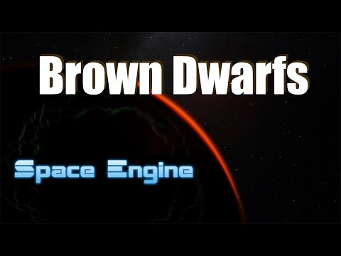 BROWN DWARFS in Space Engine